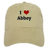 I Love Abbey Hat