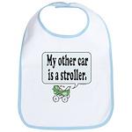 My other car is a stroller -  Bib