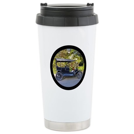 Antique Car Ceramic Travel Mug