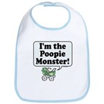 Poopie Monster! -  Bib