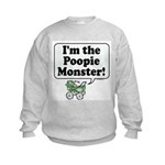 Poopie Monster! -  Kids Sweatshirt