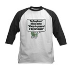 The PoopScout Motto -  Kids Baseball Jersey