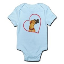 NRC Heartline Infant Bodysuit