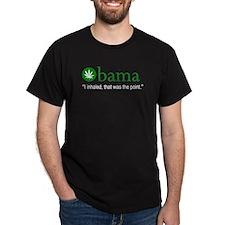 Obama I Inhaled T-Shirt