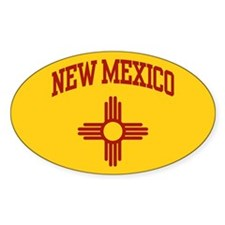 New Mexico Oval Decal