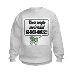 Ginormous People! -  Kids Sweatshirt