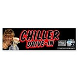 Chiller Drive-In Bumper Car Sticker