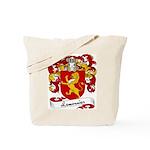 Lemonnier Family Crest Tote Bag