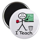 "BusyBodies Teacher 2.25"" Magnet (10 pack)"