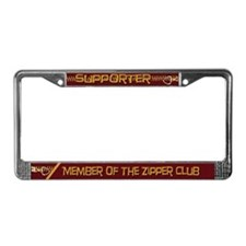 Supporter License Plate Frame