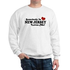 Somebody in New Jersey Loves Me Sweatshirt