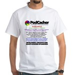 Podcacher White T-Shirt