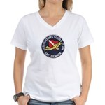 Customs Dive Team Women's V-Neck T-Shirt