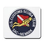 Customs Dive Team Mousepad