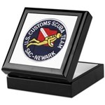 Customs Dive Team Keepsake Box