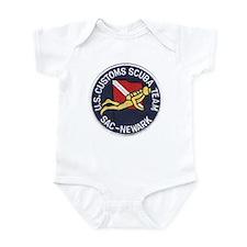 Customs Dive Team Infant Bodysuit