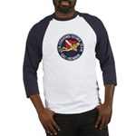 Customs Dive Team Baseball Jersey