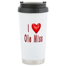 Ole Miss Ceramic Travel Mug