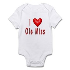 Ole Miss Infant Bodysuit