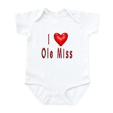 Ole Miss Infant Bodysuit