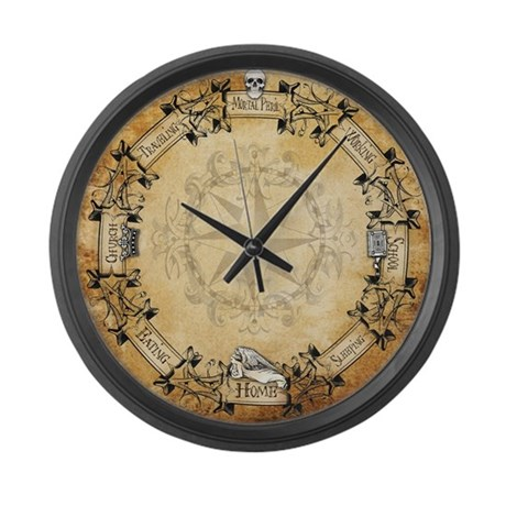 HP Clock Large Wall Clock