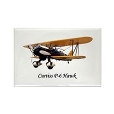 Curtiss P-6 Hawk Rectangle Magnet (10 pack)