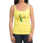 Down Syndrome Ribbon Hope Jr. Spaghetti Tank