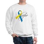 Down Syndrome Ribbon Hope Sweatshirt