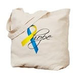 Down Syndrome Ribbon Hope Tote Bag