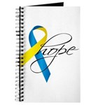 Down Syndrome Ribbon Hope Journal