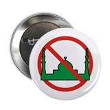 "No Mosque 2.25"" Button"