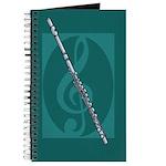Music Notebook Flute Journal