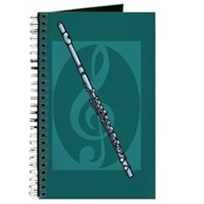 Music Notebook Flute Journal