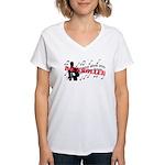 Rickrolled Women's V-Neck T-Shirt