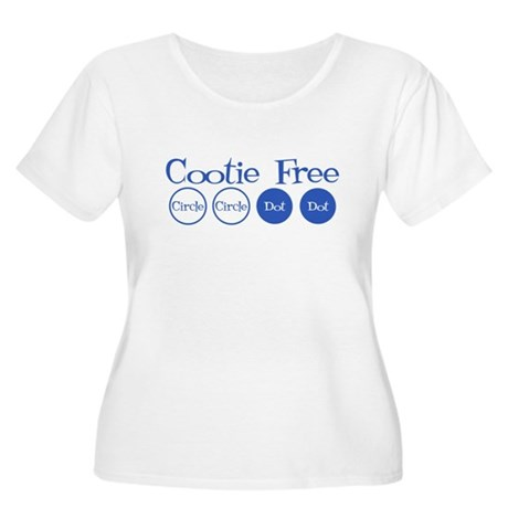 Cootie Free Plus Size Scoop Neck Shirt