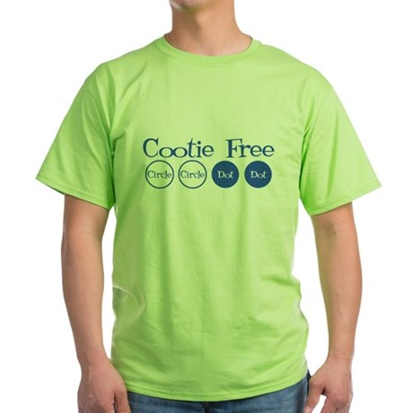 Cootie Free Green T-Shirt