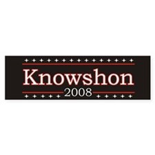 Knowshon 2008 Bumper Bumper Sticker