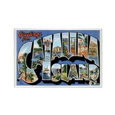 Catalina Island CA Rectangle Magnet