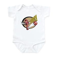 Big Foos Infant Bodysuit