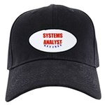 Retired Systems Analyst Black Cap