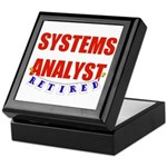 Retired Systems Analyst Keepsake Box