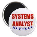 Retired Systems Analyst Magnet