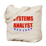 Retired Systems Analyst Tote Bag