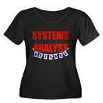 Retired Systems Analyst Women's Plus Size Scoop Ne