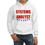 Retired Systems Analyst Hooded Sweatshirt