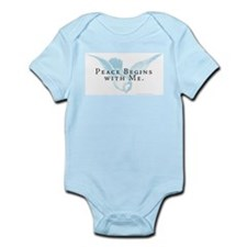 Peace Begins With Me Infant Bodysuit