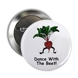 Dance With The Beet! Button