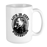 Life is just Pietzsche Ceramic Mugs