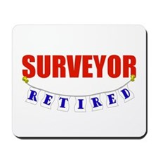 Retired Surveyor Mousepad