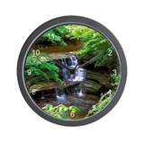 Starved Rock Park Illinois Wall Clock